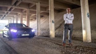 Atletisch design-icoon - De test - Mercedes CLS