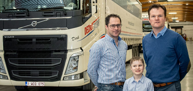 Totaalpartner voor transporten - Decruy Transport NV