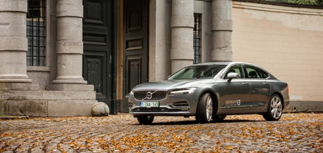 Discrete Zweed - De Test: Volvo S90 D5 AWD Geartronic Inscription
